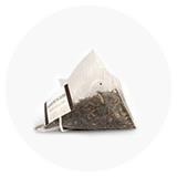 Tee in Seidenpyramiden