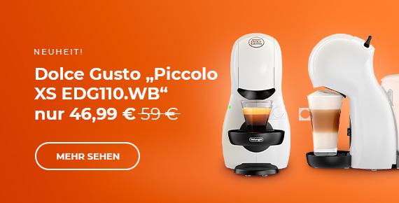 "Dolce Gusto ""Piccolo XS EDG110.WB"" Kaffeemaschine nur 46.99 €"
