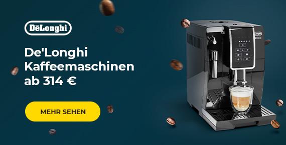 De'Longhi Kaffeemaschinen ab 314 €