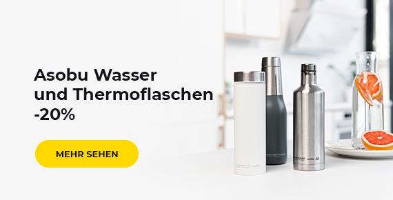 Asobu Wasser und Thermoflaschen -20%