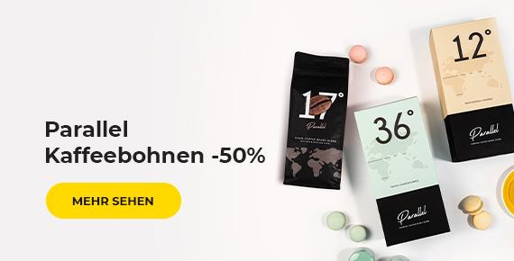Parallel Kaffeebohnen -50%