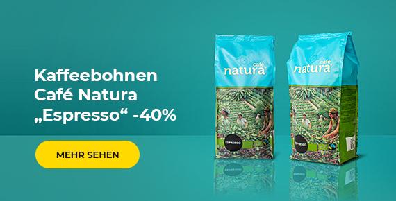 Café Natura Espresso -40%