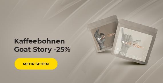 Kaffeebohnen Goat Story -25%