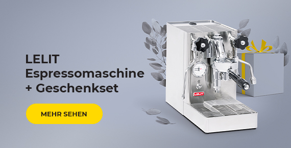 LELIT Espressomaschine + Geschenkset