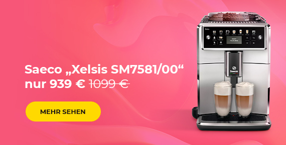 "Kaffeemaschine Saeco ""Xelsis SM7581/00"" nur 939 €"