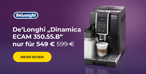 "De'Longhi ""Dinamica ECAM 350.55.B"" nur für 549 €"
