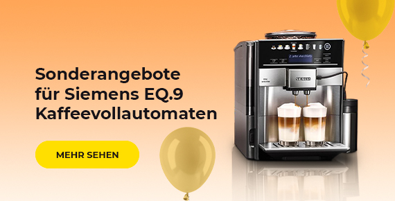 Sonderangebote für Siemens EQ.9 Kaffeevollautomaten