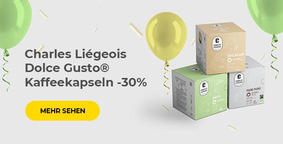 Charles Liégeois Dolce Gusto® Kaffeekapseln -30%