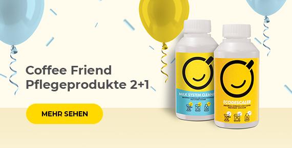Coffee Friend Pflegeprodukte 2+1