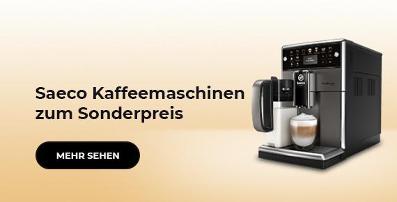 Saeco Kaffeemaschinen zum Sonderpreis