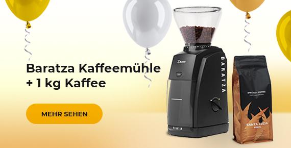 Baratza Kaffeemühle + 1 kg Kaffee
