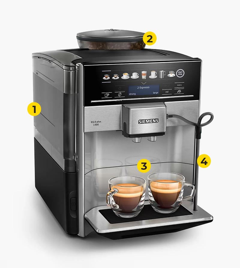 Technische Vorteile der Kaffeemaschine
