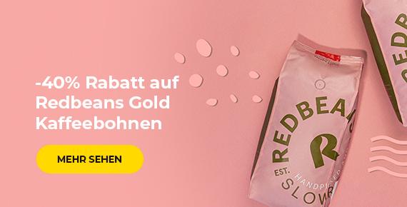 Redbeans Gold Kaffeebohnen -40%