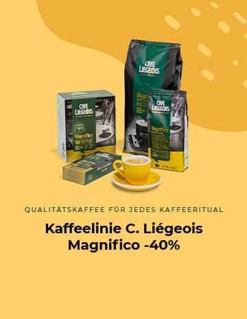 Kaffeelinie C. Liégeois Magnifico -40%