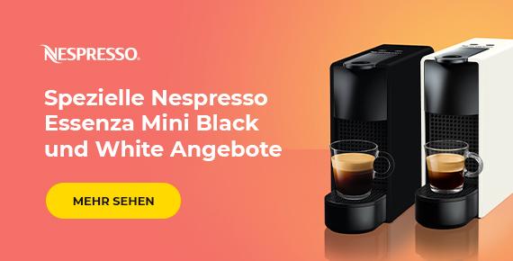 Spezielle Nespresso Essenza Mini Black und White Angebote